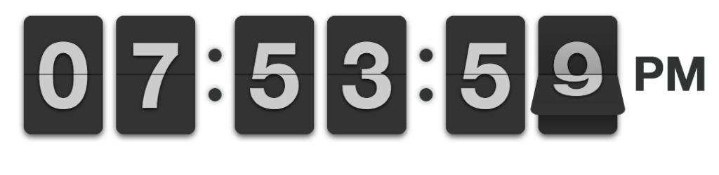 flipclock-clock