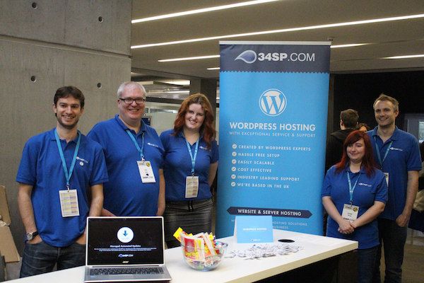 Headline sponsors of WordCamp Manchester (and hosts of this very site): 34SP
